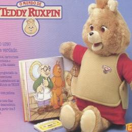 Teddy Ruxpin Tectoy -  chegou ao mercado brasileiro em novembro de 1988 pela Tectoy.