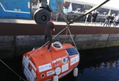 """Francês de 71 anos atravessa Atlântico num """"barril"""""""