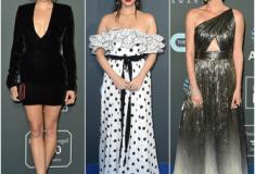 Os looks do tapete azul do Critics' Choice Awards