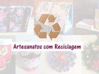 16 artesanatos com reciclagem