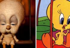 As versões realistas de personagens de desenhos animados