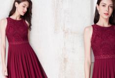Últimas tendências de vestidos de festa