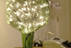 Como fazer uma linda luminária com um garrafão