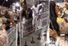 Mulher é agredida durante ensaio técnico da Vai-Vai no Anhembi