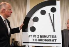 Relógio do Apocalipse permanece a dois minutos da meia-noite