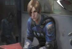 Enquanto isso no novo Resident Evil 2