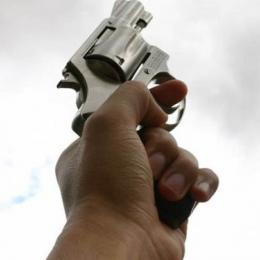 O que acontece com a bala quando atiramos para cima?