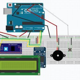 Relógio digital Arduino com despertador - RTC DS3231