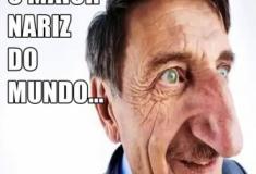 Conheça o homem com o maior nariz do mundo