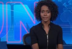 Maju Coutinho se pronuncia pela primeira vez após apresentar o Jornal Nacional