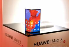 Huawei lançou o Mate X com ecrã dobravel