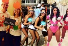As melhores fantasias de Carnaval dos últimos tempos