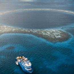 As fascinantes descobertas no Buraco Azul de Belize, o maior sumidouro do mundo