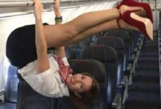 O lado irreverente da profissão de Aeromoça