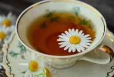 Chá de Camomila para ansiedade e insônia