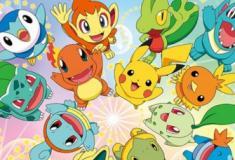 Quais os três Pokémon iniciais de cada geração?