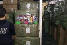 Apreensão recorde de contrabando em 2018