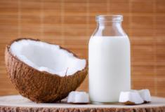 Benefícios do leite de coco