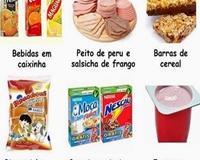 Verdade sobre alguns alimentos, que parecem saudáveis mas não o são
