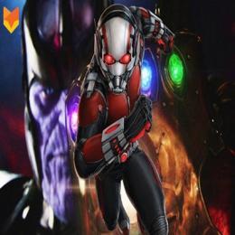Homem Formiga pode entrar dentro da cavidade de Thanos