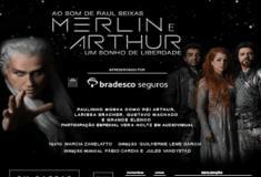 Tudo sobre a peça Merlin e Arthur