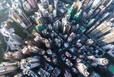 Imagens das Cidades visto de cima