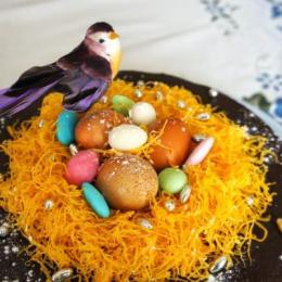 Bolo ninho de Pascoa