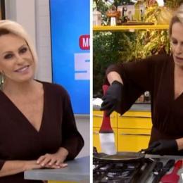 """Ana Maria Braga erra receita ao vivo: """"Juro para vocês que dá certo"""""""