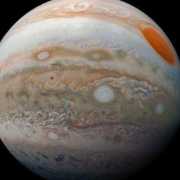 Sonda da Nasa captura foto de Júpiter com riqueza em detalhes