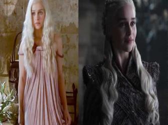 Evolução dos personagens de Game of Thrones