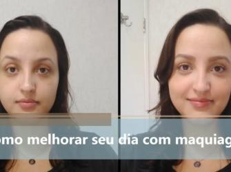 Como melhorar seu dia com maquiagem