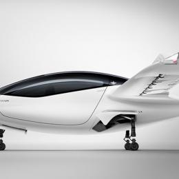 Start-up alemã apresenta protótipo de táxi voador