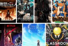 TOP 7 - Animes para assistir na Netflix