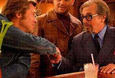 Brad Pitt e Leonardo DiCaprio no trailer de Era Uma Vez em Hollywood