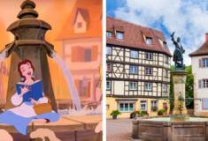 Os lugares mágicos que inspiraram os filmes de contos de fadas