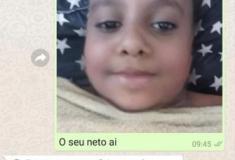 Trollando a mãe com filtro de bebê do snapchat
