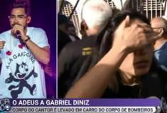 Repórter do SBT sofre tentativa de furto durante velório de Gabriel Diniz