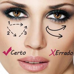 Como esconder olheiras com uma maquiagem simples??!