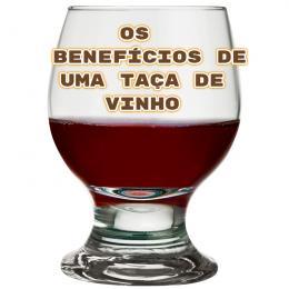 Os benefícios de uma taça de vinho