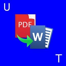 Como converter arquivos pdf para word