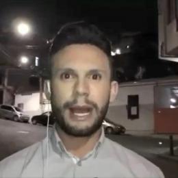 Equipe de TV é ameaçada de morte durante transmissão ao vivo