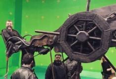 20 fotos por trás das gravações da série Game of Thrones