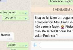 Médica cai em golpe no WhatsApp e recebe