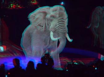 Circo alemão usa hologramas em vez de animais vivos