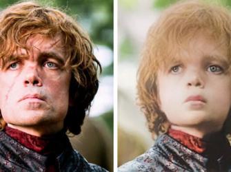 Os atores de Game of Thrones se fossem crianças