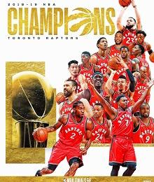 Toronto Raptors bate Golden State Warriors e conquista a NBA