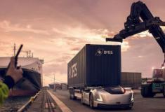 O caminhão elétrico e autônomo da Volvo Trucks, 'Vera' já tem trabalho