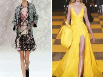 Imagens que mostram o antes e depois de grandes modelos