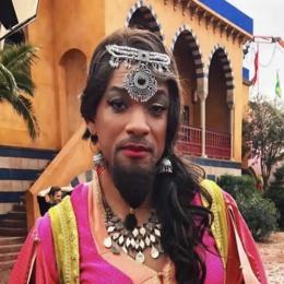 Will Smith no set de Aladdin