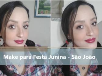 Make para Festa Junina - São João